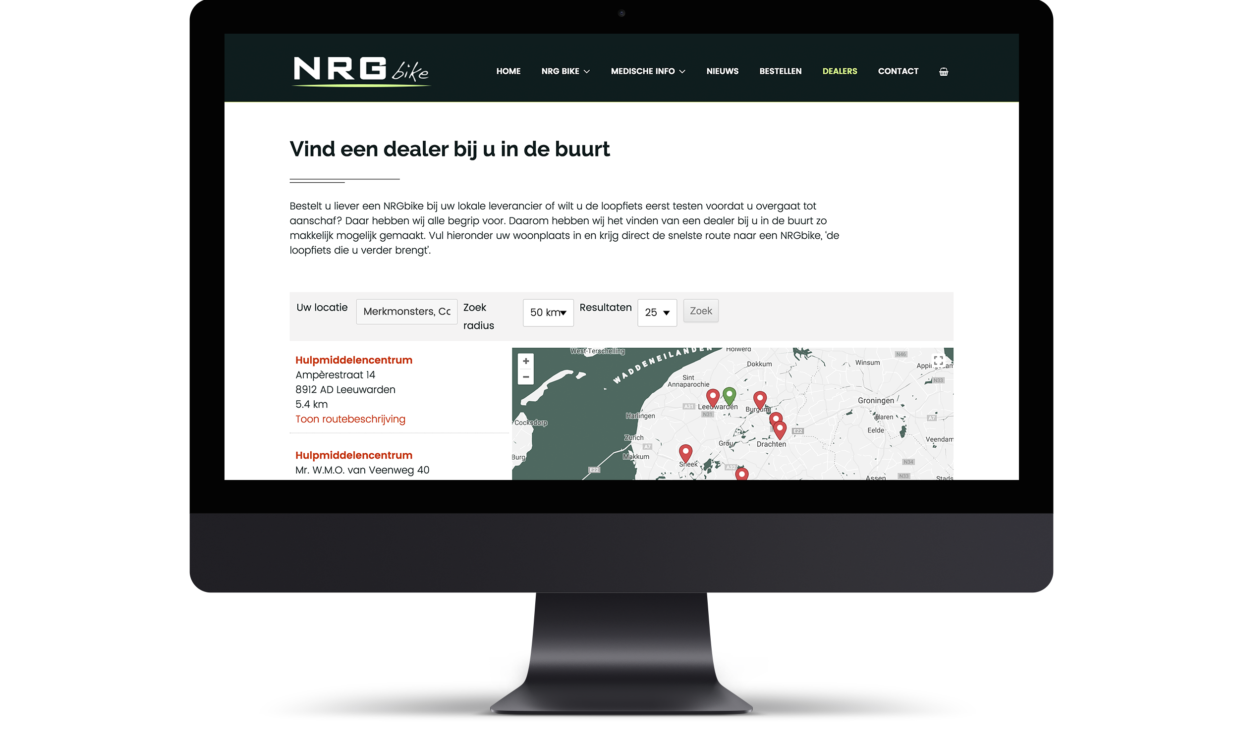 Website NRGbike