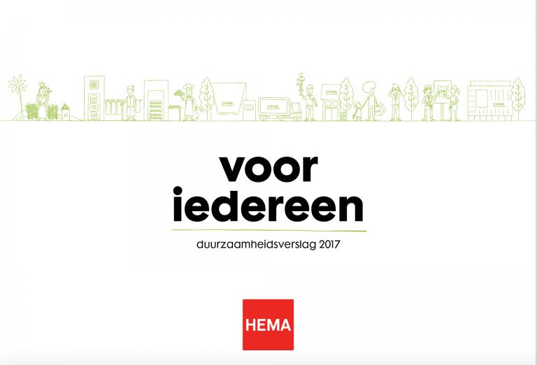 HEMA duurzaamheidsverslag